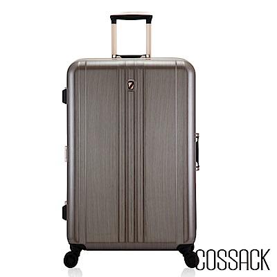 Cossack-CLASSIC經典-28吋PC鋁框行李箱-金色髮絲