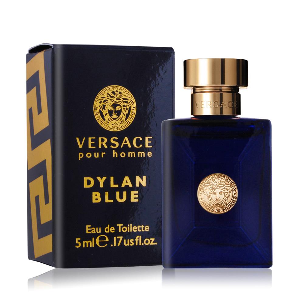 Versace Pour Homme Dylan Blue 狄倫正藍男性淡香水5ml航空版