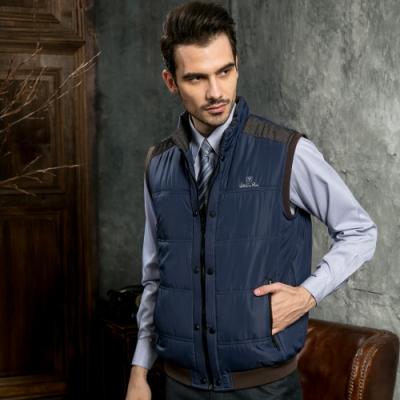 Valentino Rudy范倫鐵諾.路迪 拉鍊式休閒背心-雙排扣-丈青