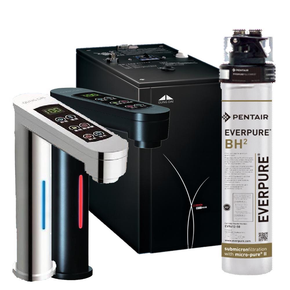 宮黛觸控式櫥下型雙溫飲水機GD-600