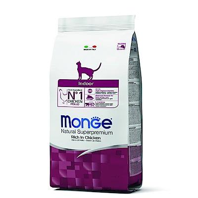 Monge Natural 天然特選 室內貓 雞肉配方 0.4KG 兩包組