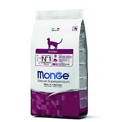 Monge Natural 天然特選 室內貓 雞肉配方 1.5KG