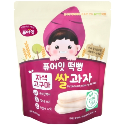 NAEBRO 幼兒米餅-紫薯風味 (30g)