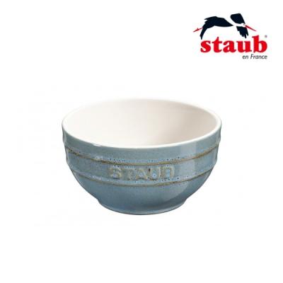法國Staub 圓型陶瓷碗 12cm 綠松石