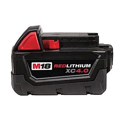 Milwaukee美沃奇 18V鋰電專用電池4.0AH M18B4