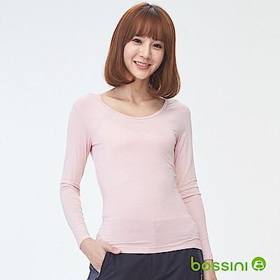 bossini女裝-遠紅外線發熱衣01嫩粉