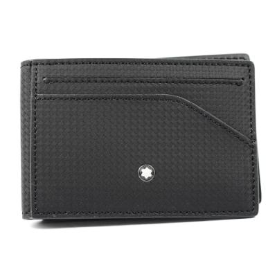 MONTBLANC萬寶龍 Extreme風尚系列2.0 袖珍型摺疊卡夾 黑色