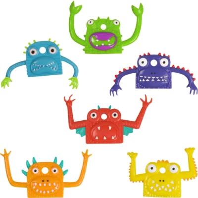《KitchenCraft》彩色怪物鑰匙套6件