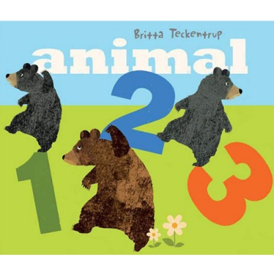 Animal 123 翻一翻動物123數數操作書