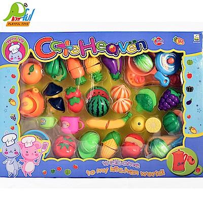 【Playful Toys 頑玩具】水果切切樂