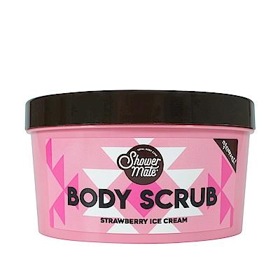 Shower Mate 冰淇淋去角質霜300g - 甜甜草莓