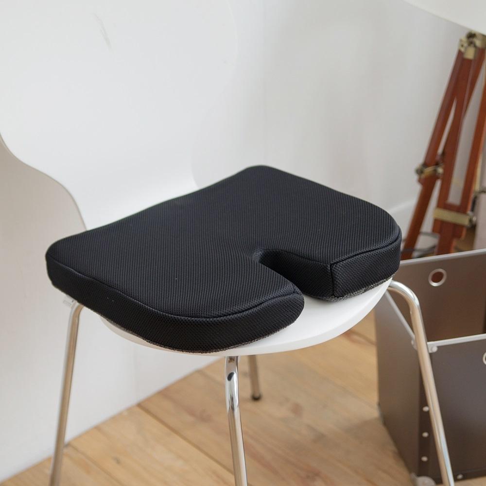 (買一送一) 完美主義 記憶棉坐墊/靠墊/椅墊(3色可選)