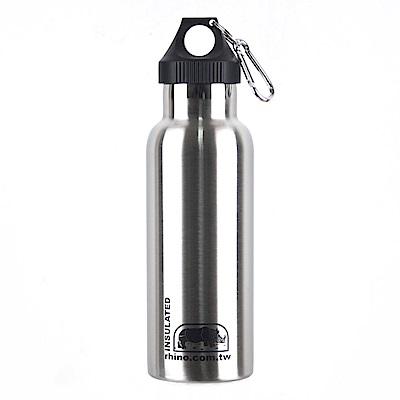 犀牛RHINO Vacuum Bottle雙層不銹鋼保溫水壺500ml
