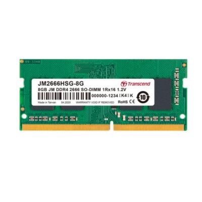 Transcend創見 JetRAM DDR4-2666MHz 8GB 筆電記憶體