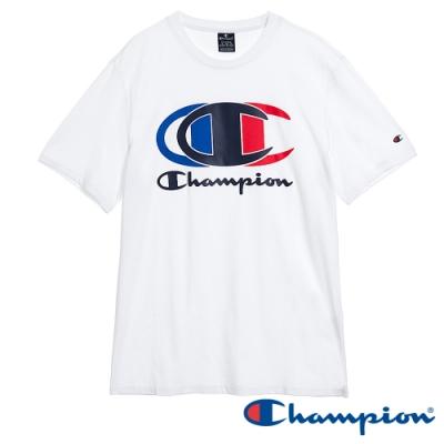 Champion EU Legacy Logo短T(白色)