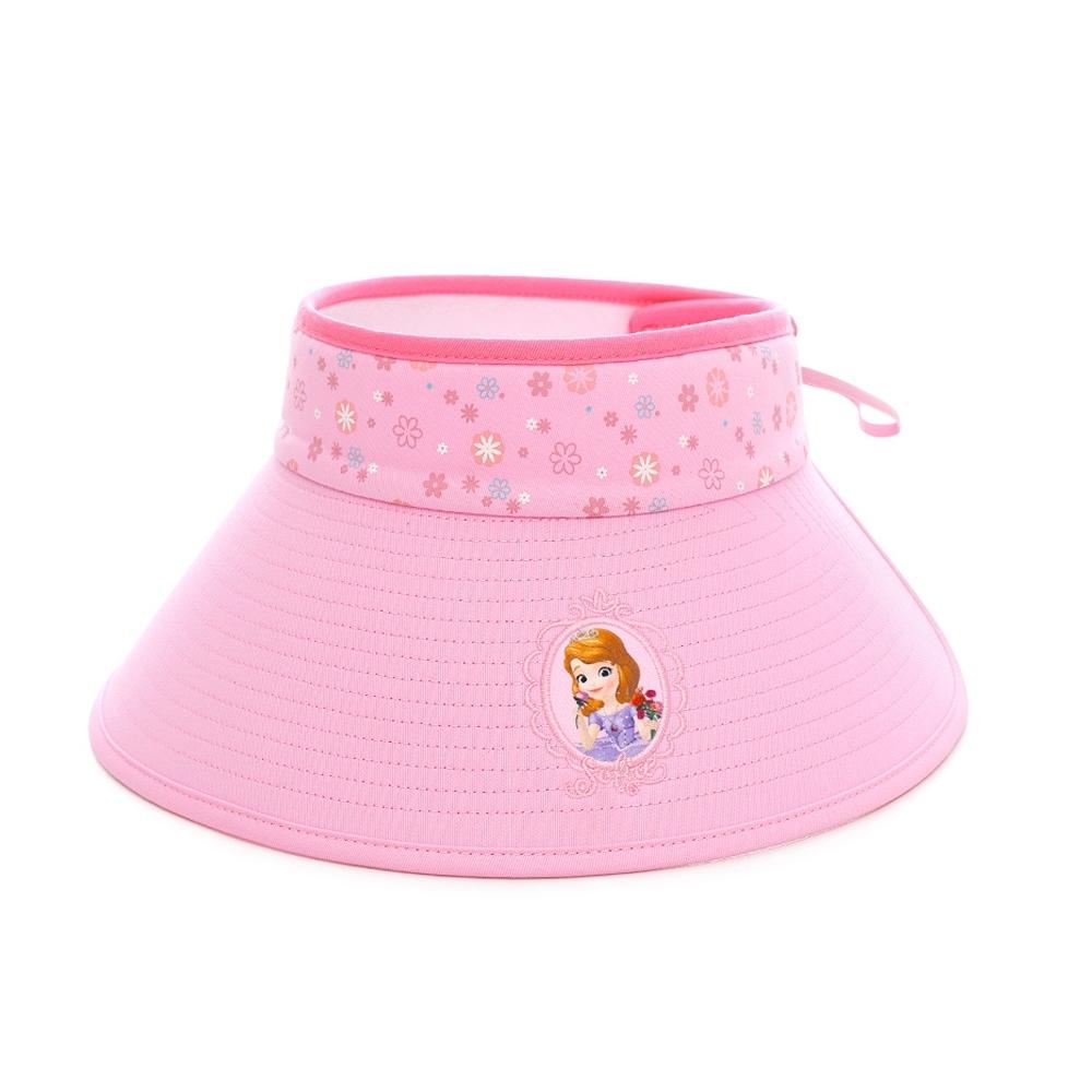 迪士尼公主系列兒童遮陽帽 防曬帽