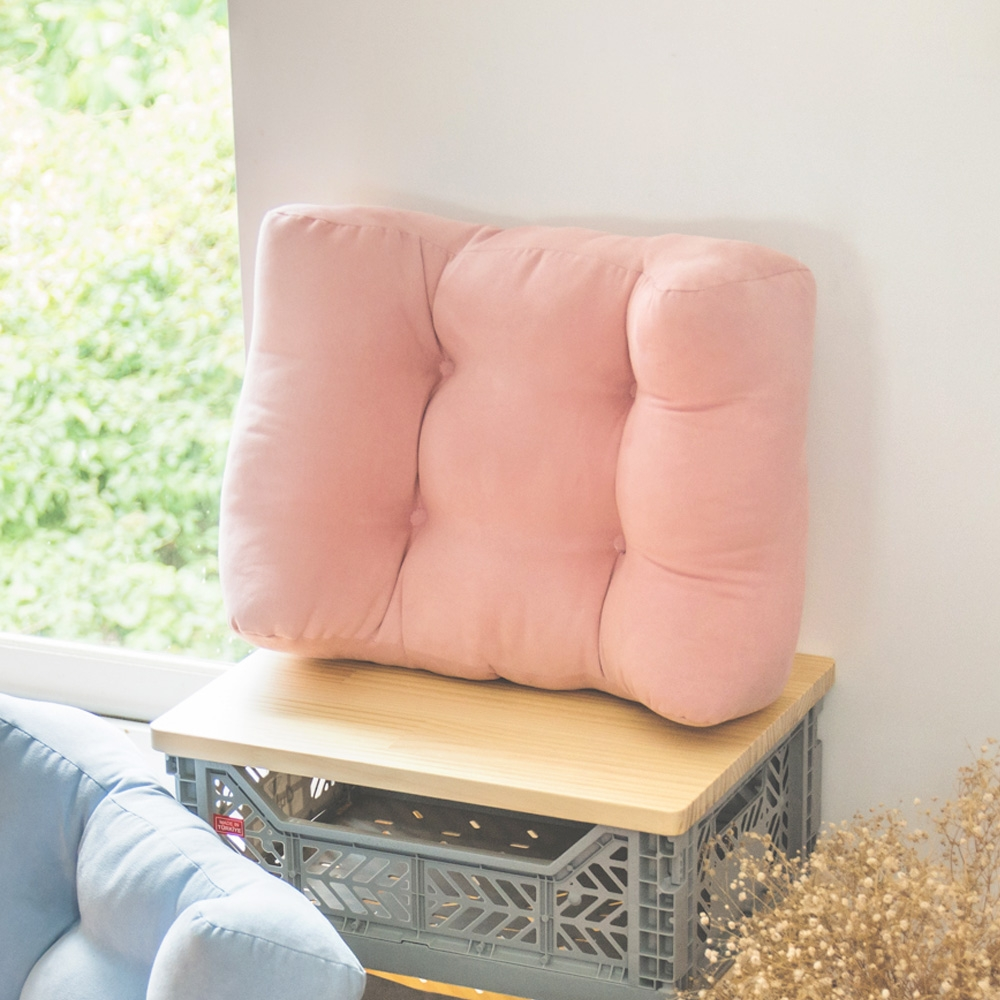 完美主義 大+小超值質感靠腰衴組/紓壓枕/靠墊(4色)