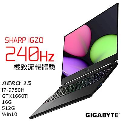 AERO 15 電競筆電 i7-9750H / GTX 1660 Ti