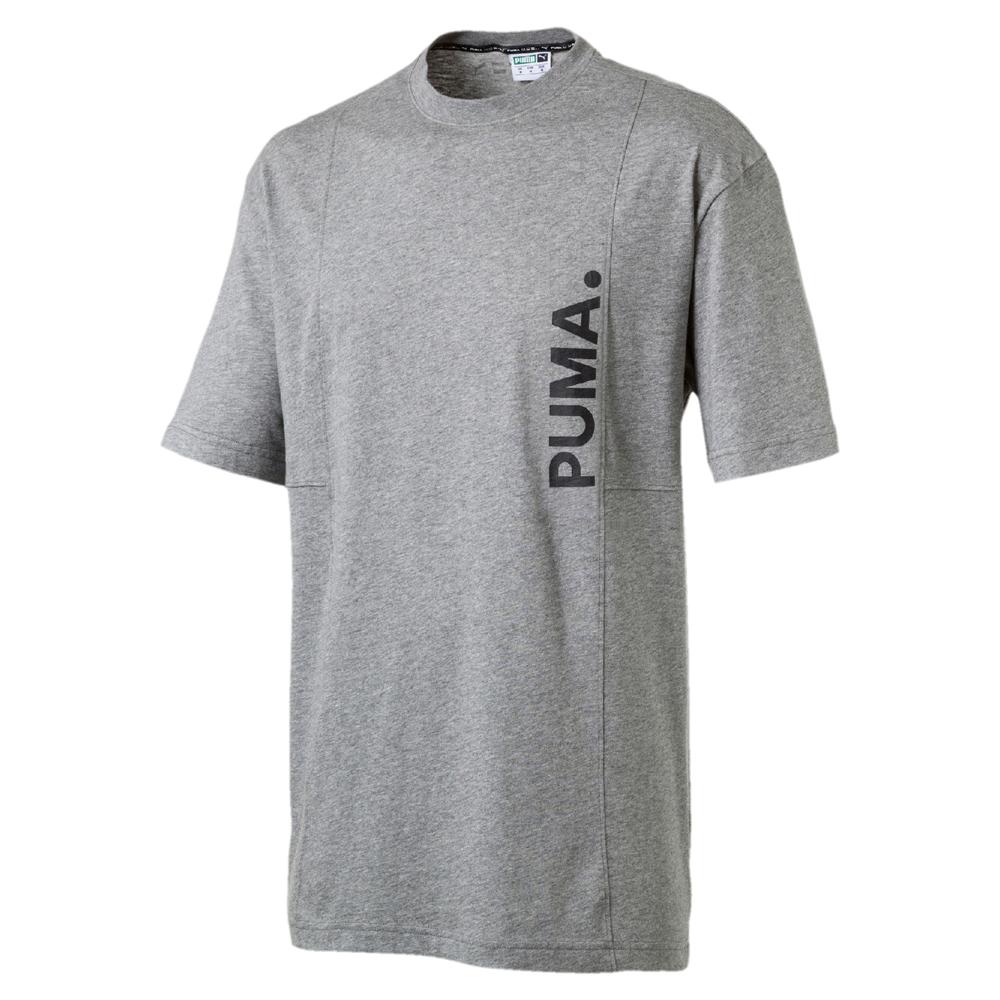 PUMA-男性流行系列Epoch短袖T恤-中麻花灰-歐規