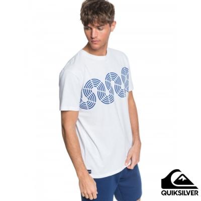 【QUIKSILVER】MTK CONNECTED TEE T恤 白色