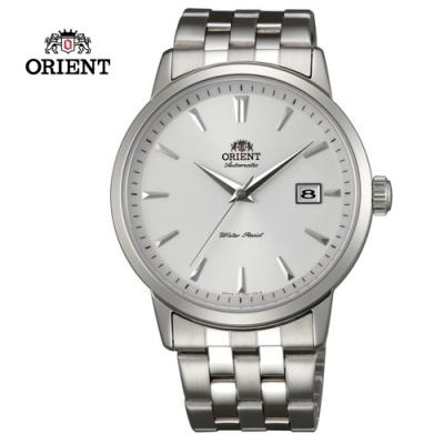 ORIENT 東方錶DATE系列 日期顯示功能機械錶 鋼帶款 FER2700AW - 41mm