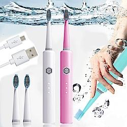 ANDYMAY2 全防水USB充電式全自動智能聲波電動牙刷