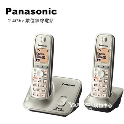 Panasonic 國際牌2.4GHz高頻數位大字體無線電話 KX-TG3712 (銀)