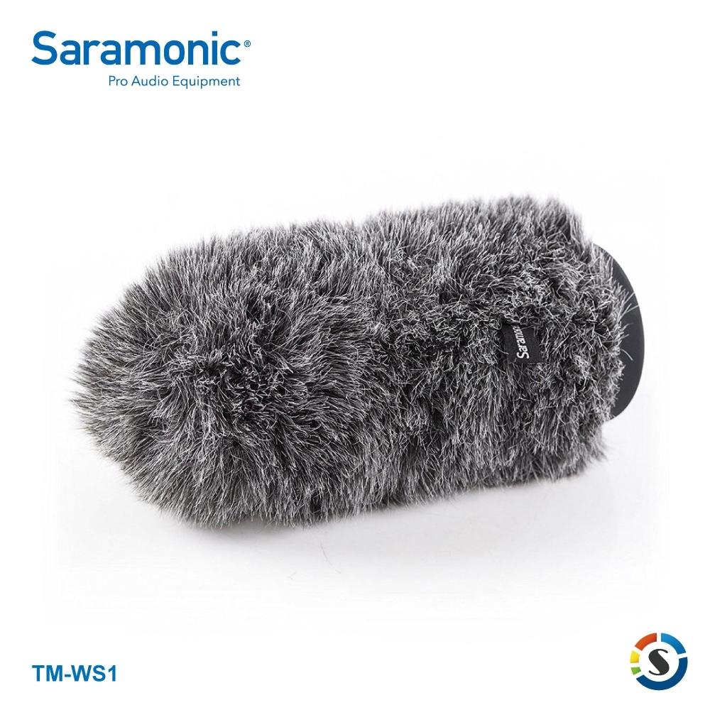 Saramonic楓笛 TM-WS1 麥克風戶外防風毛套