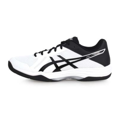 ASICS GEL-TACTIC 男排羽球鞋-羽球 排球 訓練 白黑