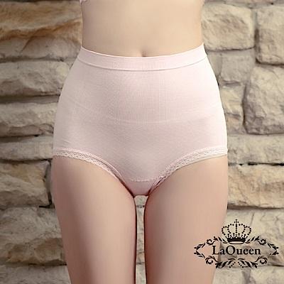 塑褲 萊卡環型塑腰彈力蠶絲塑褲-粉 La Queen