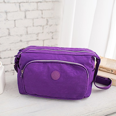COUNT DUCK 美系悠活輕量小資女最愛側背包-CD-014-紫色