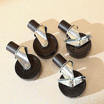 BuyJM 專利設計耐重層架專用工業輪(附二煞二活)