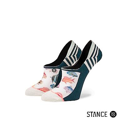 STANCE DYNAMITE -女襪-隱形襪-水彩拼貼海洋生物設計款