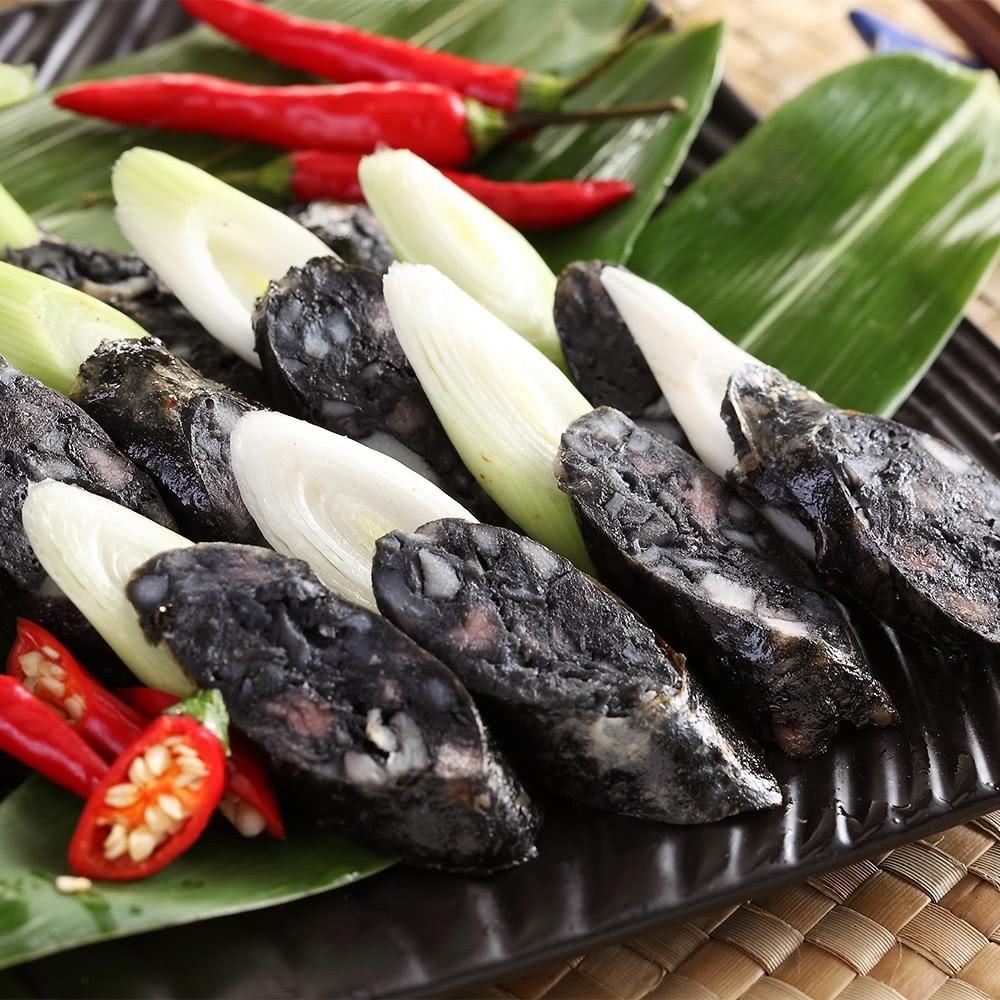 上野物產噴汁彈牙墨魚香腸 x6包(300g土10%/包)
