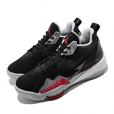 Nike 籃球鞋 Jordan Zoom 92 運動 男鞋 氣墊 避震 喬丹 包覆 支撐 球鞋 黑 灰 CK9183001