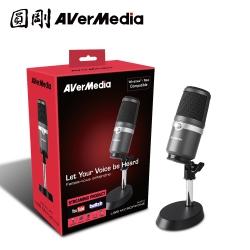 圓剛 AVerMedia AM310 黑鳩 高音質USB麥克風 直播 演