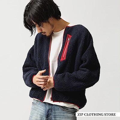仿羊絨布勞森外套(6色) ZIP日本男裝