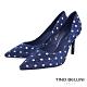 Tino Bellini派對時光水玉妝點高跟鞋_藍 product thumbnail 1