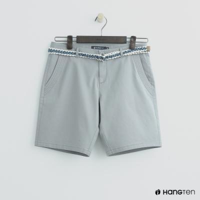 Hang Ten - 女裝 - 腰帶造型短褲 - 灰