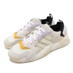 adidas 休閒鞋 Streetball Low 復古 男鞋 愛迪達 厚底 微增高 麂皮 穿搭推薦 米 黃 FW1215