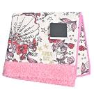 ANNA SUI 優雅可愛人魚世界字母LOGO帕領巾(粉紅)