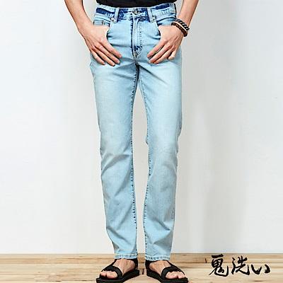 鬼洗 BLUE WAY 鬼洗氣持涼爽淺色牛仔長褲