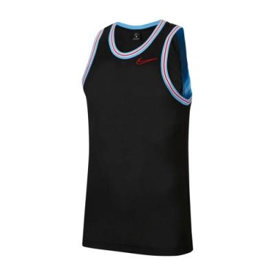 NIKE 籃球背心 運動 健身 無袖 上衣 黑 BV9357010 AS M NK DRY TOP SL CROSSOVER B