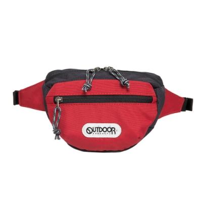 【OUTDOOR】旅遊配件-腰包-紅藍配色 OD191105RN