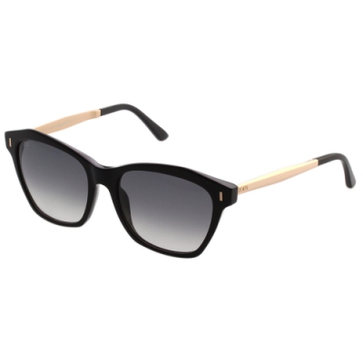 TOD'S 貓眼造型 太陽眼鏡 (黑色)TO169