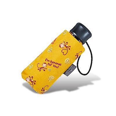 RAINSTORY 香蕉猴抗UV迷你口袋傘(黃)