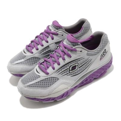 Skechers 慢跑鞋 SRR Pro-Resistance 女鞋 超回彈 久站久走 穩定 足弓推進器 緩震 灰 紫 99999742GYPR