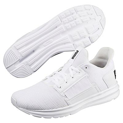 PUMA-Enzo Street男慢跑鞋-白色