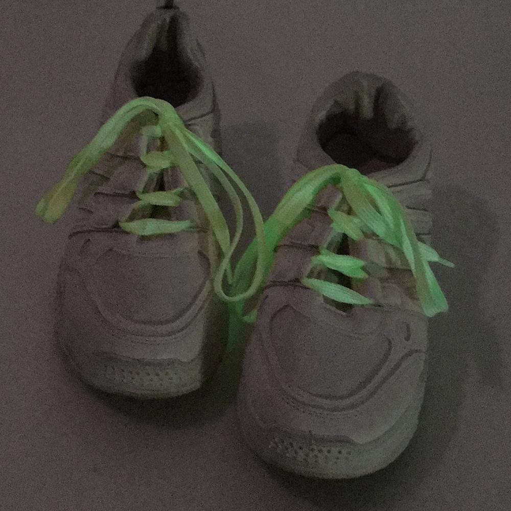 夜間螢光造型鞋帶-OB大尺碼