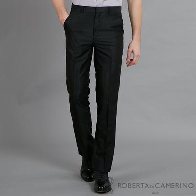 ROBERTA諾貝達 流行時尚 修身窄管版西裝褲 黑色